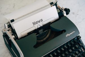 a word news as a symbol of how to use Google My Business to get more customers.