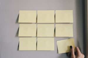 sticky notes for the most popular citation sites among local businesses