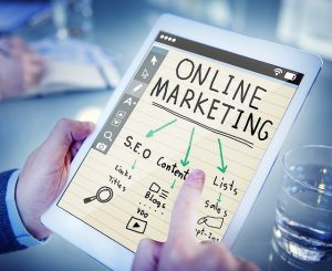Online marketing and SEO. relationship between the two of them.